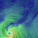 台風接近中12:00