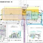 広電路面電車 高架で広島駅に乗り入れ