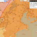 災害情報マップで台風に備えましょう